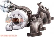 Turboaggregat Ssangyong Musso 2.9 TD - Turbo 735554-0001, A6620903080