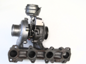 Turboaggregat Fiat Stilo 1.9 JTD - Turbo 767835-5001S, 55205474