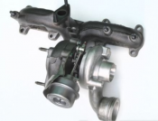 Turboaggregat VW Sharan III 2.0 TDi - Turbo 54399880059, 03G253010E